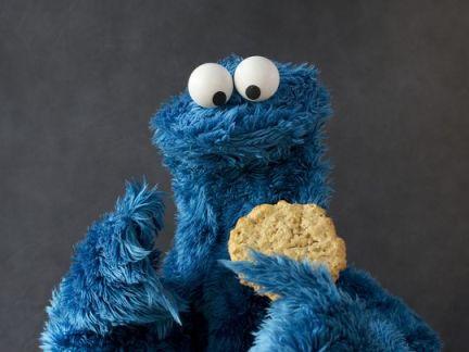 contemplating cookie